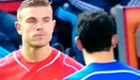 Watch Henderson eyeball Chelsea striker Costa