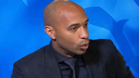 Thierry Henry reacts to Shkodran Mustafi's display in Arsenal's 3-0 cup final loss to Man City