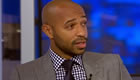 Thierry Henry reacts to Man Utd's 1-1 draw at Chelsea