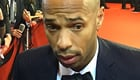 Henry reacts to Arsenal's 1-1 draw at Norwich City