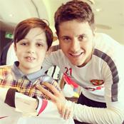 Herrera meets young Man Utd fans