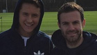 Photo: Man Utd's Juan Mata and Ander Herrera make fashion faux pas