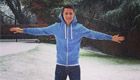 Photo: Man Utd's Ander Herrera braves the winter snow