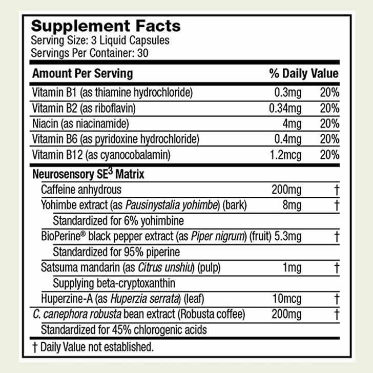Hydroxycut Super Elite ingredients