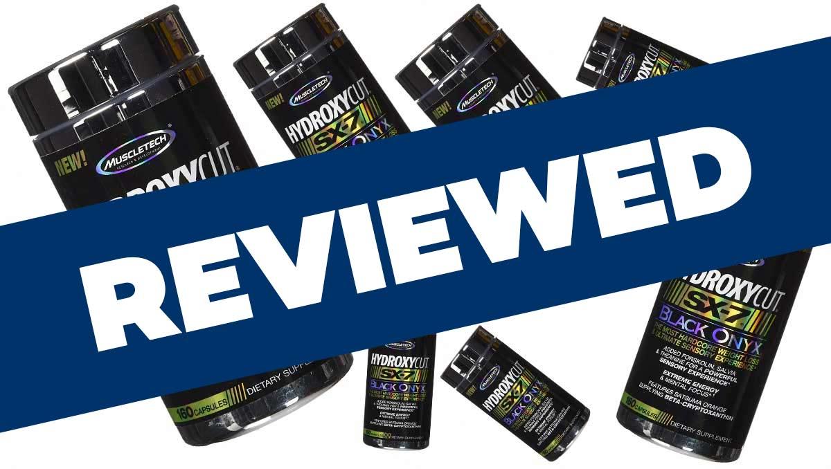 Hydroxycut SX-7 Black Onyx Review