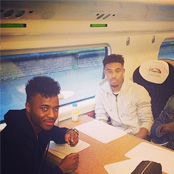 Photo: Jordon Ibe would 'give a kidney' to Liverpool star Raheem Sterling