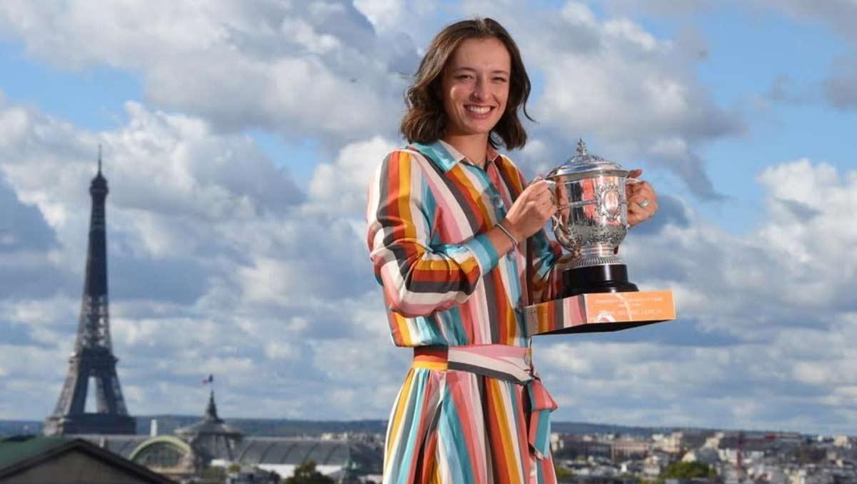 Iga Swiatek, Roland-Garros champion 2020 (Photo: Corinne Dubreuil/FFT)