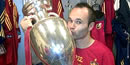 Iniesta named player of the tournament