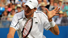 Isner beats Lopez in serving masterclass
