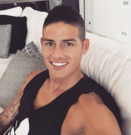 ... Madrid midfielder James Rodriguez Photo: James Rodriguez/Instagram