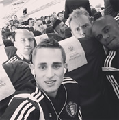 Photo: Man Utd starlet snaps selfie with Man City captain