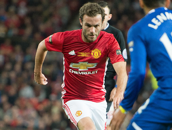 Juan Mata Reveals When He Will Return To Action For Man