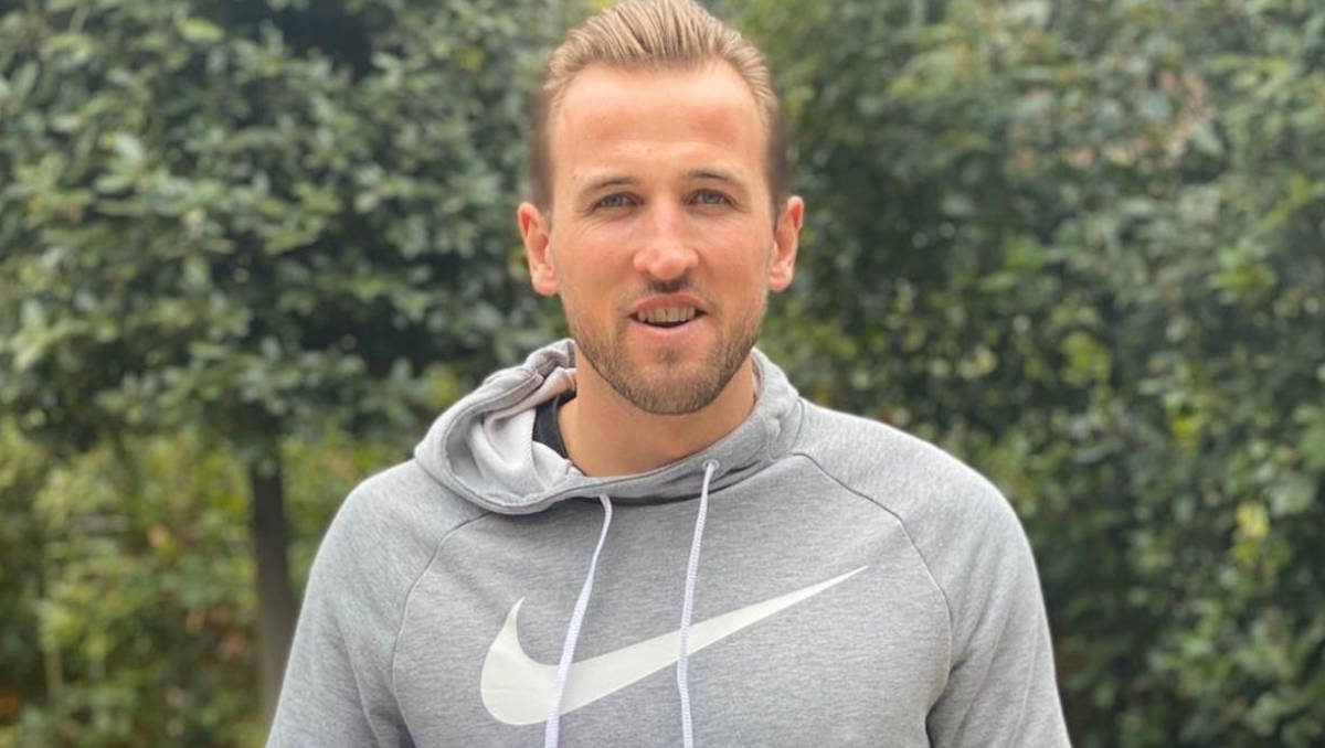 Tottenham striker Harry Kane (Photo: Harry Kane / Instagram)