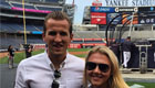 Photo: Tottenham star Harry Kane brings girlfriend to Yankees baseball game