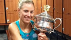 Angelique Kerber powers past Serena Williams to win Australian Open 2016