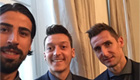 Ozil uploads snap with Arsenal target