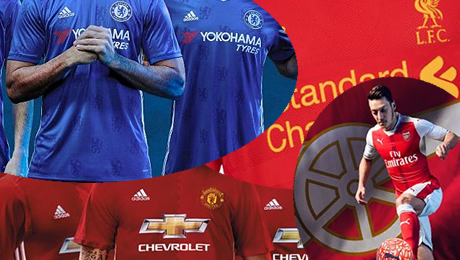 Most popular clubs by shirt sales 2016: Where do Man Utd, Arsenal, Liverpool and Chelsea rank?