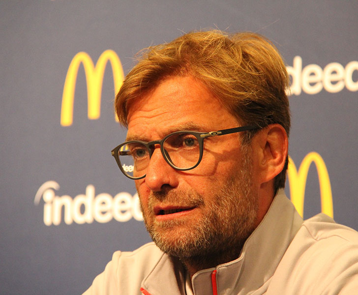 Klopp touts Gerrard as Liverpool successor