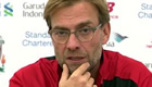 Liverpool manager Klopp plays down title talk