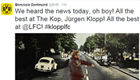 Dortmund post classy message after Klopp appointment