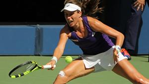 US Open 2016: Weary Johanna Konta falls short of quarters but Wozniacki rises