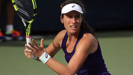 Johanna Konta, out of Madrid but still upbeat: 'I'm moving in the right direction'