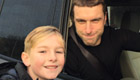 Photo: Rickie Lambert all smiles for fan's selfie after 2nd Liverpool goal