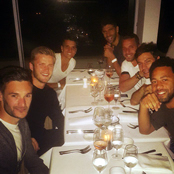 Spurs enjoy team meal in Sydney