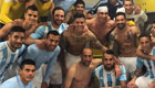 Lamela posts Argentina dressing room photo