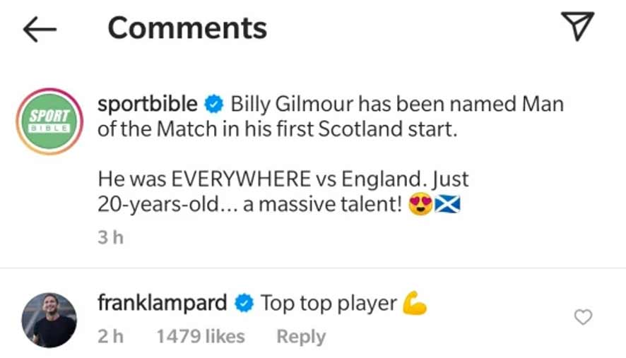 Lampard Gilmour