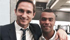 PHOTO: Cole wishes Lampard good luck at Man City
