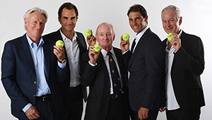 Laver Cup: Federer, Nadal, Borg and McEnroe join forces to honour 'the Rocket'