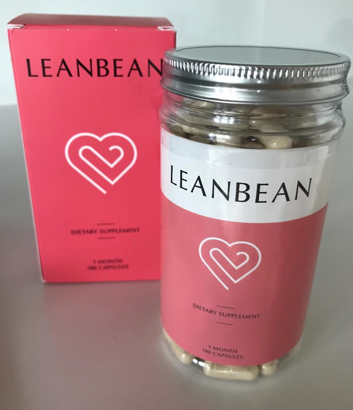 Leanbean fat burner bottle