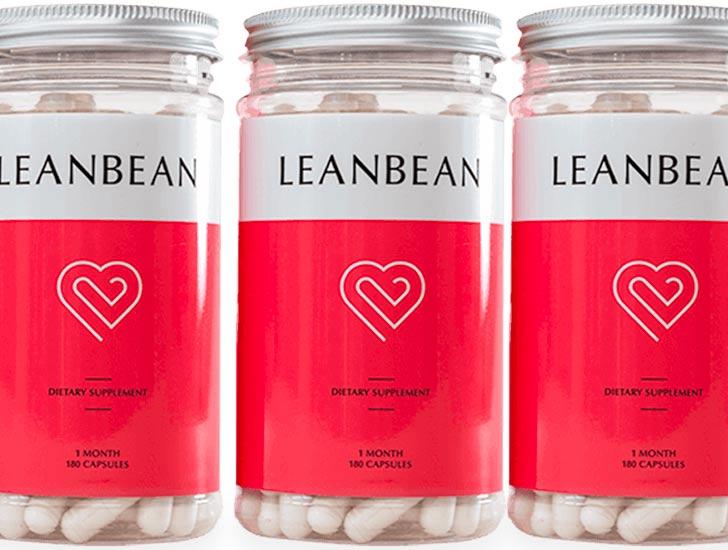 Leanbean Fat Burner Supplement Bottles