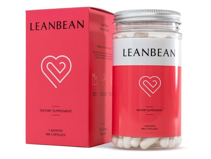 Leanbean Fat Burner Supplement Bottle