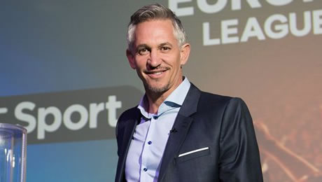 Gary Lineker reacts to Pedro's wonder goal in Chelsea's 3-0 win at Everton on Twitter