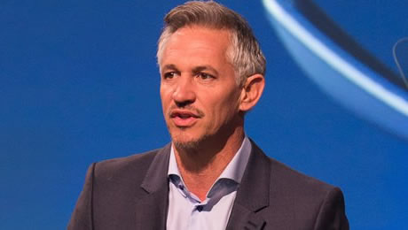 Gary Lineker reacts to Diego Costa's display in Palace v Chelsea