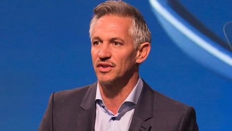 Gary Lineker reacts to Chelsea FC's 3-2 win over Arsenal
