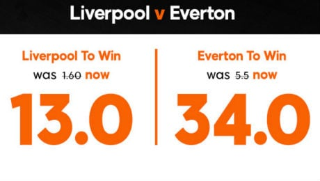 Liverpool v Everton: 12/1 enhanced odds, kick-off time, TV channel and prediction