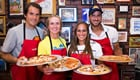 US Open 2015: Feliciano Lopez joins stars at New York pizza school