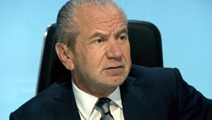 Lord Sugar tells Piers Morgan to shut up after Arsenal tweet