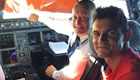 Lovren takes control of Liverpool flight