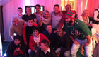 Photo: Liverpool duo Coutinho and Lucas party with Manchester rivals