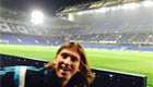 Luis photobombs Drogba's Stamford Bridge snap