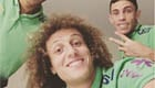 Luiz snaps selfie with Arsenal defender