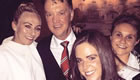 City ladies stars all smiles with Van Gaal