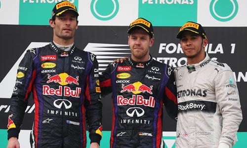malaysian grand prix podium