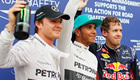 Malaysian Grand Prix 2014: Lewis Hamilton takes pole position