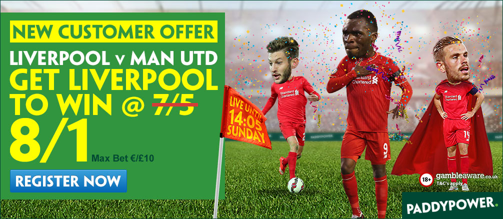 liverpool enhanced odds