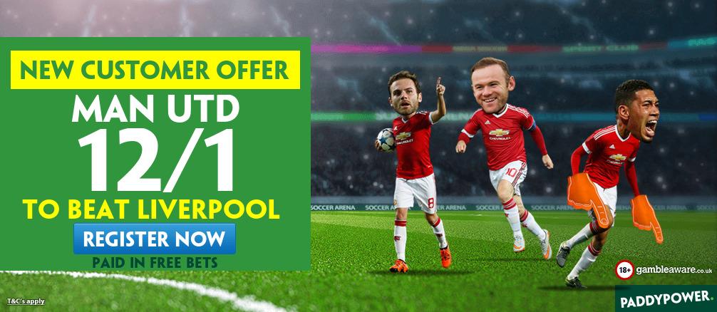 man united liverpool betting